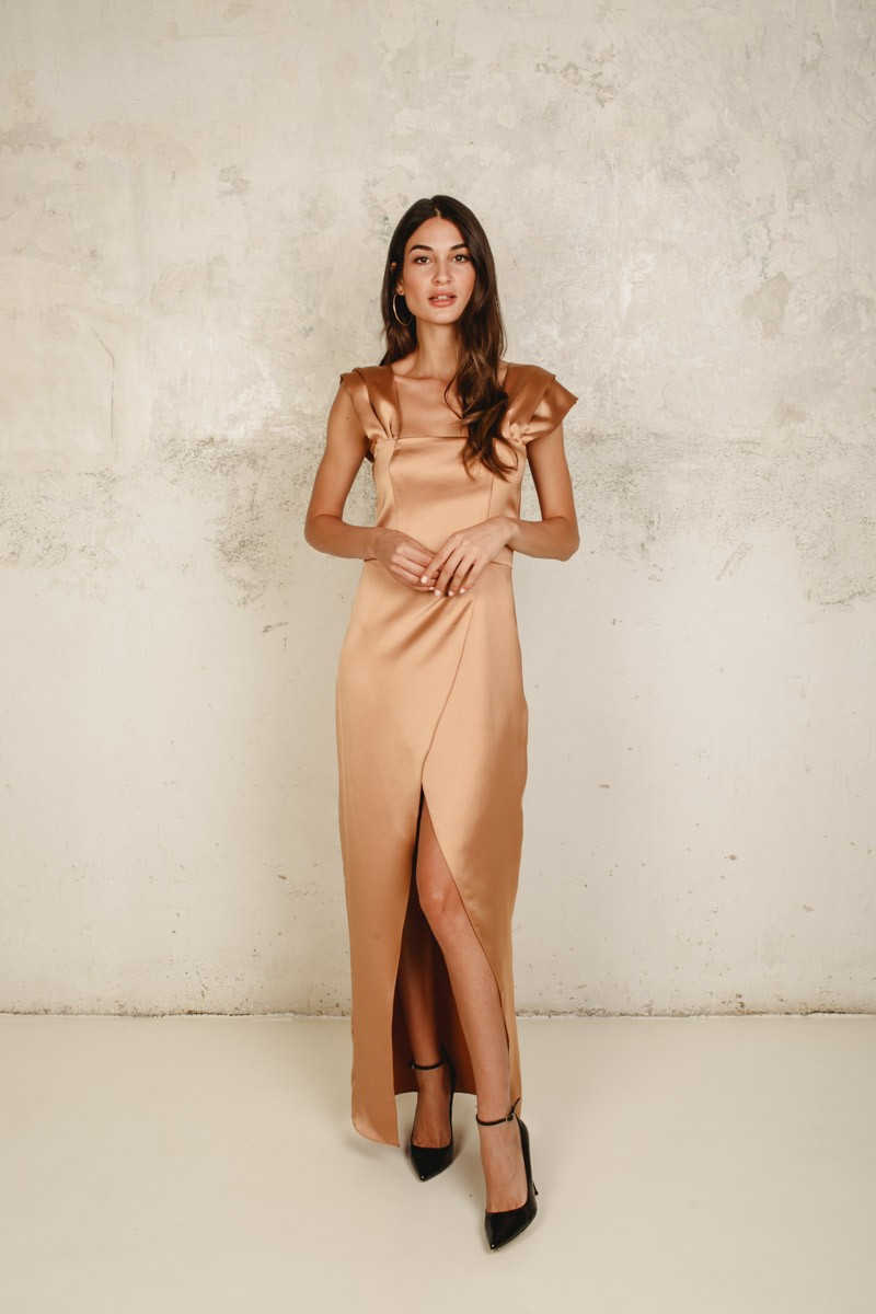 Caleta Toast Dress