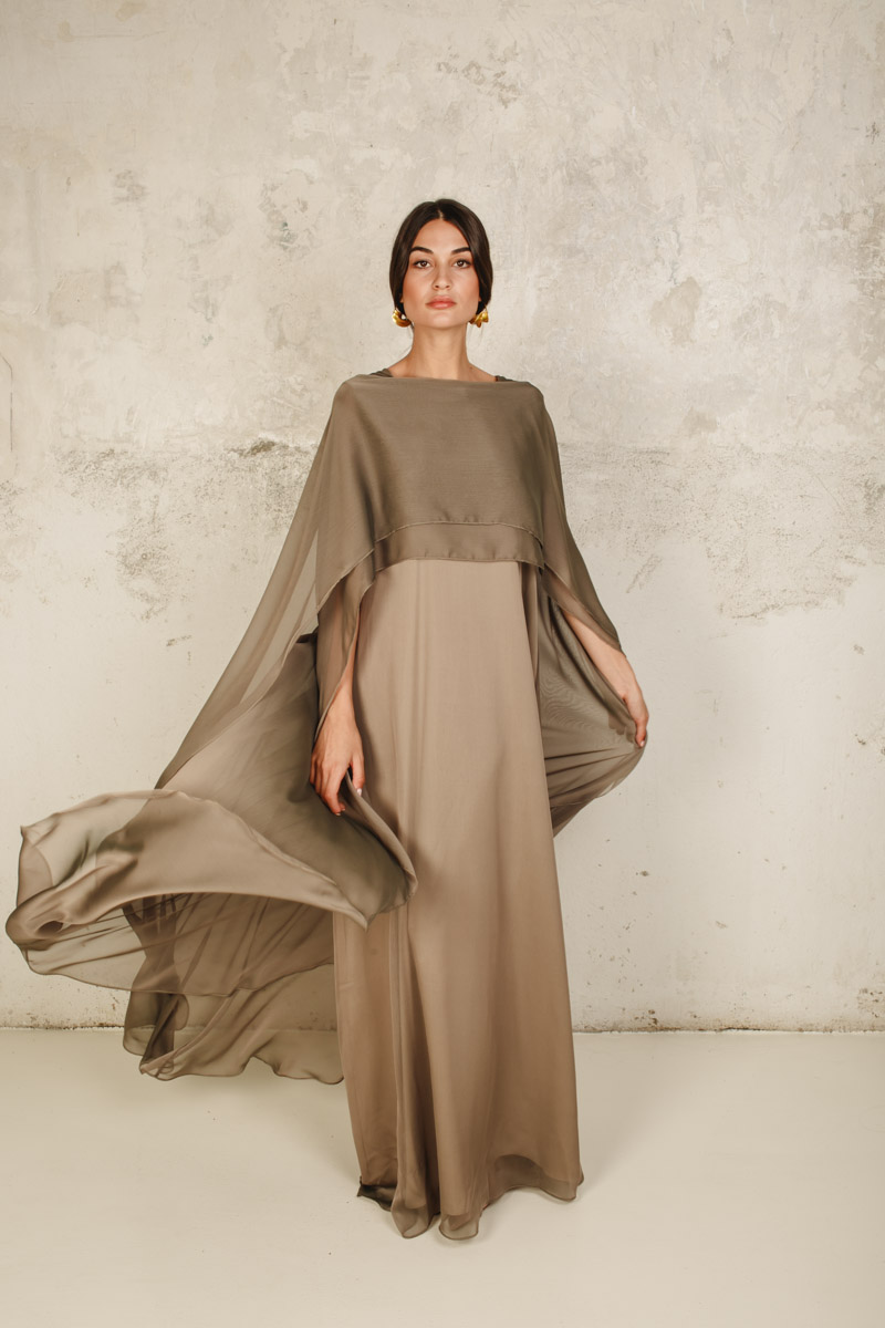 Laga dress olive green
